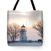Cheboygan Harbor Light Tote Bag