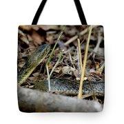 Checkered Keelblack Tote Bag