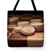 Checkers II Tote Bag by Tom Mc Nemar