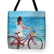 Checking The Surf Tote Bag