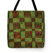 Checkoff Abstract Pattern Tote Bag