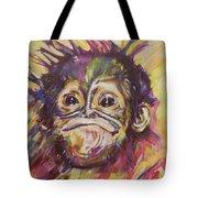 Cheeky Lil' Monkey Tote Bag