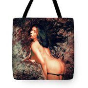 Cheeky Nude Tote Bag
