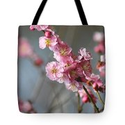 Cheerful Cherry Blossoms Tote Bag