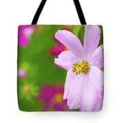 Cheerful Cosmos Tote Bag