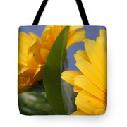 Cheerful Gerbera Daisies Tote Bag