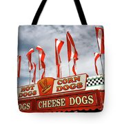 Cheese Dogs Galore Tote Bag