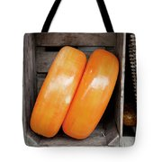 Cheese Wheels Tote Bag