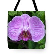 Cheetah In The Orchid Tote Bag