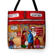Chef In The Window Tote Bag