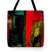 Chelsea Hotel Abstract Tote Bag