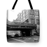 Chelsea Pier Area New York City Tote Bag