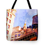 Chelsea Water Tower Tote Bag