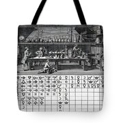 Chemical Lab With Proto-periodic Table Tote Bag