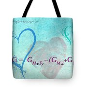 Chemical Thermodynamic Equation For Love Tote Bag