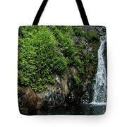 Chemisal Falls At Vichy Springs In Ukiah In Mendocino County, California Tote Bag