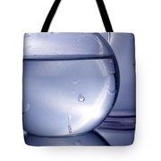 Chemistry Beakers Blue Tote Bag