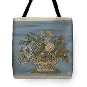 Chenille Embroidery Tote Bag