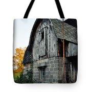 Chequamegon National Forest Barn Portrait Tote Bag