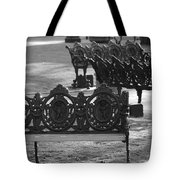Cherb Benches Tote Bag