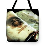 Cherished Old Book Tote Bag