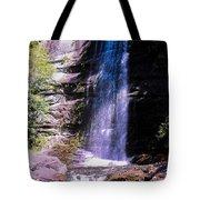 Cherokee Falls Tote Bag by Tom Zukauskas