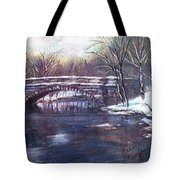 Cherokee Park Bridge Tote Bag