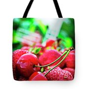 Cherries And Berries Tote Bag