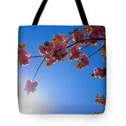Cherries In The Sky Tote Bag