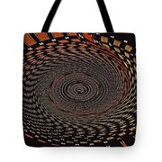 Cherry Basket Weaving Abstract Tote Bag