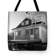 Cherry Beach Boat House Tote Bag