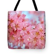 Cherry Blossom Pastel Tote Bag