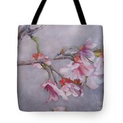 Japanese Cherry Blossom Tree Tote Bag