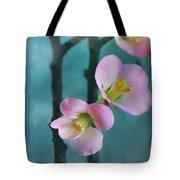 Cherry Blossom Bokeh Tote Bag