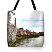 Cherry Blossoms In Bloom Tote Bag