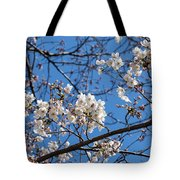 Cherry Blossoms In Hiroshima Tote Bag