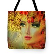 Cherry Cherry Lady Tote Bag