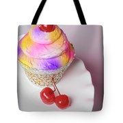 Cherry Cupcake Tote Bag