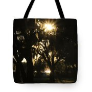 Cherry Point Trees Tote Bag