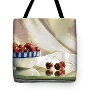 Cherry Still Life Tote Bag