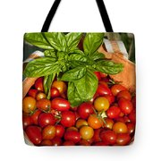Cherry Tomato Harvest Tote Bag