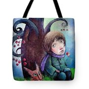 Cherry Tree Tote Bag
