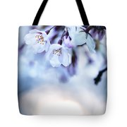 Cherry Tree Blossoms In Morning Sunlight Tote Bag