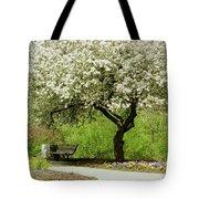 Cherry Tree In Full Bloom Tote Bag
