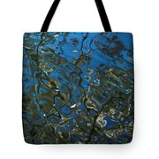 Cherry Tree Reflection Tote Bag