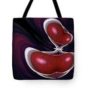 Cherry Wood Tote Bag