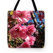 Cherryblossoms Perspective  Tote Bag