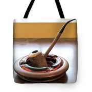 Cherrywood Freehand Pipe Tote Bag