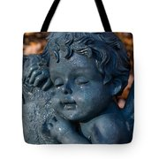 Cherub Sleeping Tote Bag