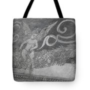 Cherub Stone Graffiti 2 Tote Bag